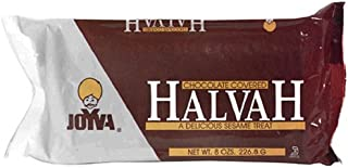 Joyva Chocolate Covered Halvah, 8-Ounce Packages (Pack of 12)