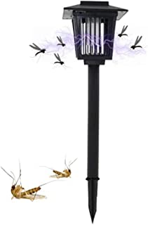 Outdoor Solar Power Insect Killer LED Lamp - Mosquito Fly Bug Insect Zapper Killer Light Garden Yard Lawn Decor Lantern