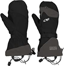 Outdoor Research Meteor Mitts, Black/Charcoal, M