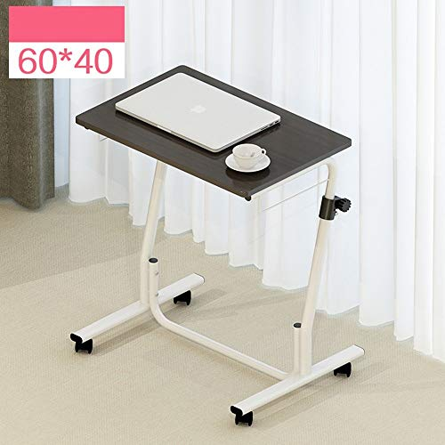 Heim-Beistelltische Einfacher Laptop-Schreibtisch Einfacher Desktop-Heimarbeitstisch Abnehmbarer Lift-Nachttisch, BOSS LV, 6