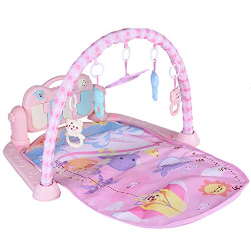 Baby Activity Play Gym Kick and Play Newborn Toy with Piano for Baby Play Mat Activity Toys for Baby Boy Girl Newborn Gift Fitness Frame Game Pad Activity Fitness Blanket