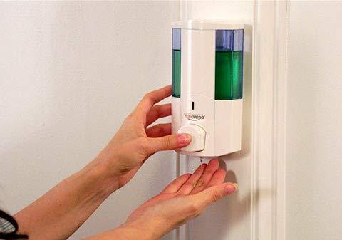 Wall Mount Dispenser for Soap, Gel Sanitizer, Lotion,...