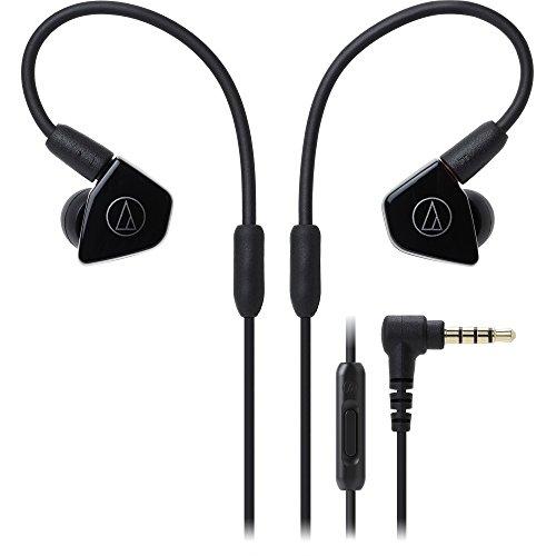 Audio-Technica ATH-LS50iSBK - Auriculares, Color Negro