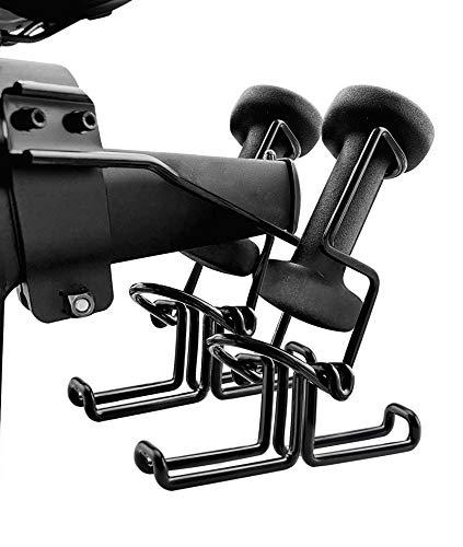 DenForste 2 Pack Shoe Rack Bike Shoe Hanger Holder Compatible with Peloton Bike (Not Compatible with Peloton Bike +)