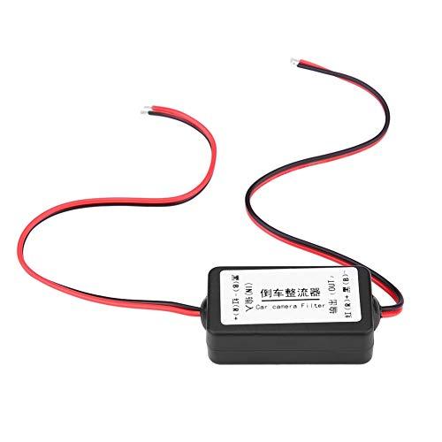 Filtro Rectificador-12V DC Coche Retrovisor Aparcamiento Cámara Potencia Relé Condensador Filtro Rectificador