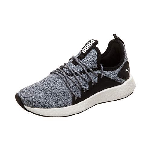 Puma NRGY Neko Knit Jr, Unisex-Kinder Sneakers, Schwarz (Puma Black-Puma White), 36 EU