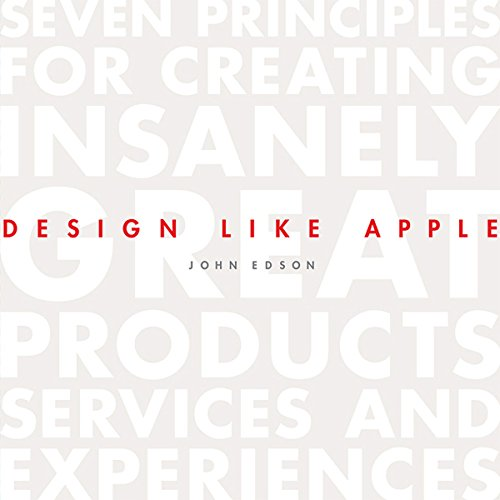Design Like Apple audiobook cover art
