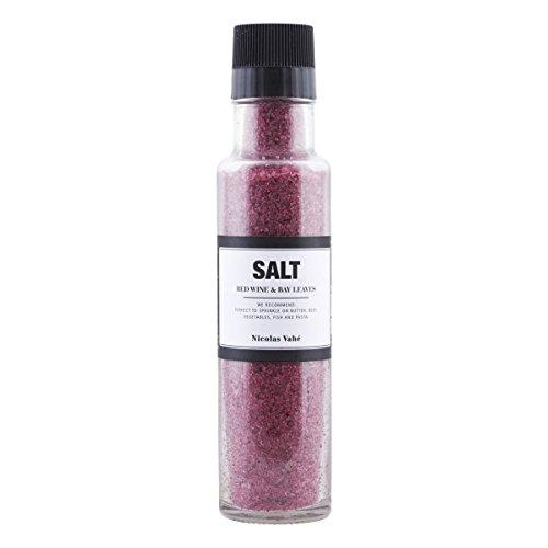Nicolas Vahé - Salz mit Rotwein und Lorbeer - 340g