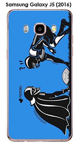 Onozo Carcasa para Samsung Galaxy J5 (2016), diseño de fútbol