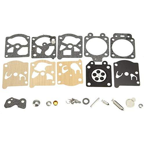 Juego de la Junta de la Junta del diafragma del carburador Reemplazo del Kit de reparación de la Aguja for WA WT Walbro carburador