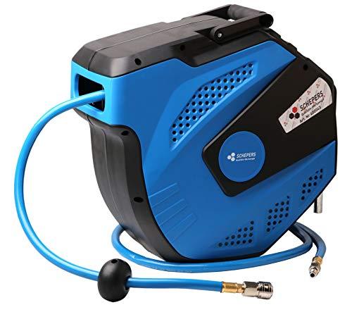 SWV 400043 Automatik Druckluftschlauch Schlauchtrommel 15m +1m