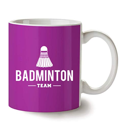 Shirtcity Badminton Team Tasse Himbeere by