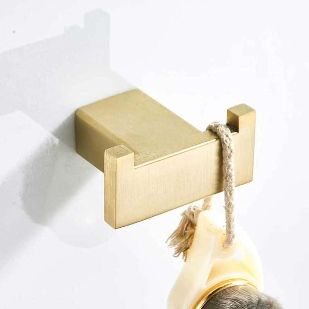 VVWLIU Outlet ☆ Free Shipping Brushed Gold Bathroom Accessories Max 84% OFF Stainless Steel To Set