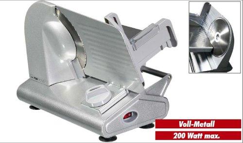 Clatronic MA 2964 Metall-Allesschneider silber