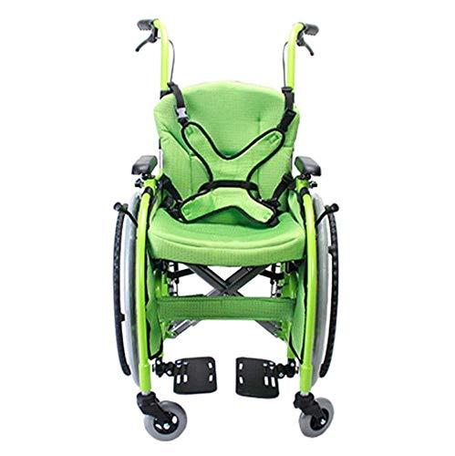 Oudere mensen met een handicap, gemakkelijk inklapbare rolstoelkinder-rolstoel, auto, kleine draagbare invaliden, rolstoel, kinder-handrolstoel, Y-L
