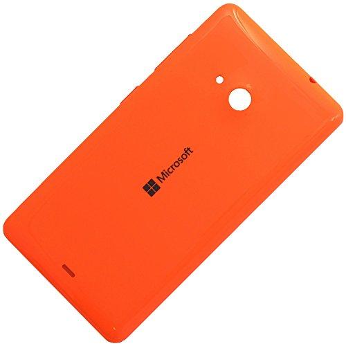 Original Akkudeckel orange für Microsoft Lumia 535 und 535 Dual Sim