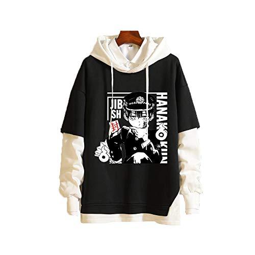 Meelanz Unisex Hoodie Anime Pullover Sweatshirt Long Sleeve for Men Women