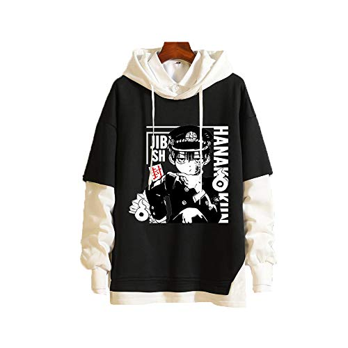 Meelanz Unisex Hoodie Anime Pullover Sweatshirt Long Sleeve for Men Women