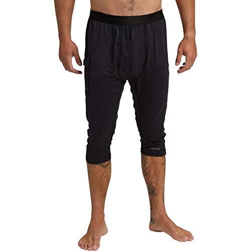 Burton Men's Standard Midweight X Base Layer 3/4 Boot Pants, Black, X-Large