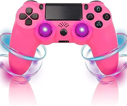 Playstation 4 / Cool Wireless Controller para PS4, Gamepad Double Shock de Alto Rendimiento para PS4 / Pro/PC con función de Audio (Color : 3K)