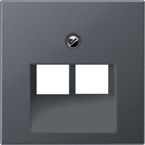 Jung A569–2bfpluaanm–Zentralplatte für Toma Telefonica UAE 2x 8Polen