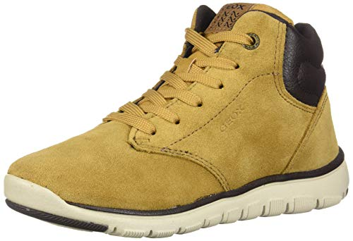 Geox Jungen J XUNDAY BOY A Chukka Boots, Gelb (Dk Yellow/Brown C2286), 33 EU