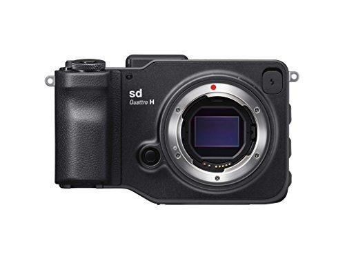 Sigma sd Quattro H spiegellose Systemkamera (45 Megapixel, 7,6 cm (3 Zoll) Display, SD-Kartenslot, SDHC-Kartenslot, SDXC-Kartenslot, Eye-Fi-Kartenslot) schwarz