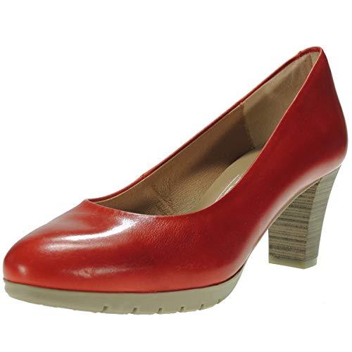 Zapato Salón Piel para Mujer - Marca Desiree - Flexible Piso Goma...