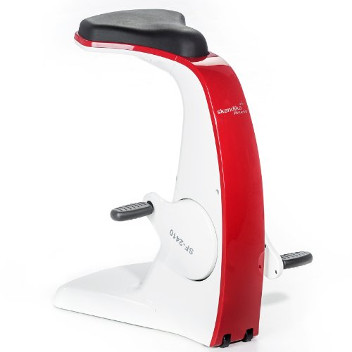 skandika Office Bike Ergometer 60 Watt fantastisches Design (Firebird)