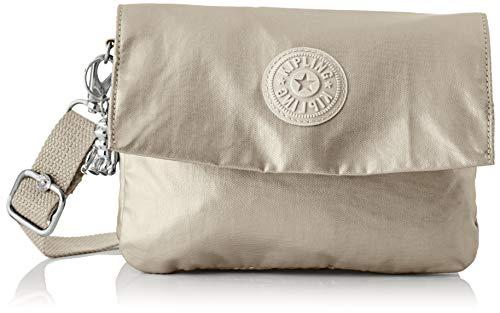Kipling Osyka, Bolso Con Bandolera para Mujer, Dorado (Cloud Metal Gifting), 21x15x3.2 centimeters (B x H x T)