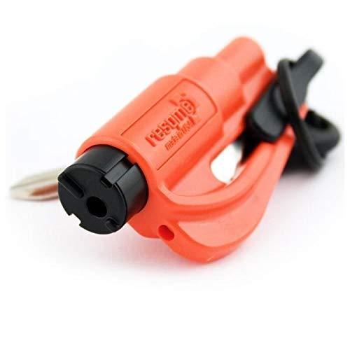 RESQ ME 98730 - Llavero de seguridad (2 en 1), color rojo