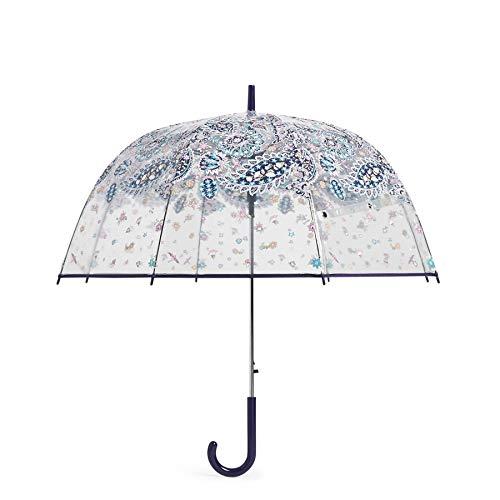 Vera Bradley Auto Open Bubble Umbrella, French Paisley