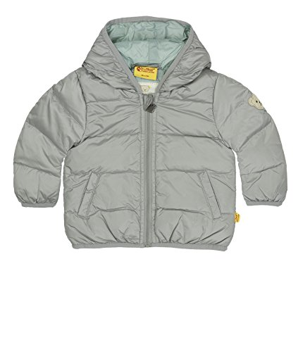Steiff Baby-Jungen Jacke Jacke, Gr. 56, Grau (Steiff softgrey melange gray 8200)