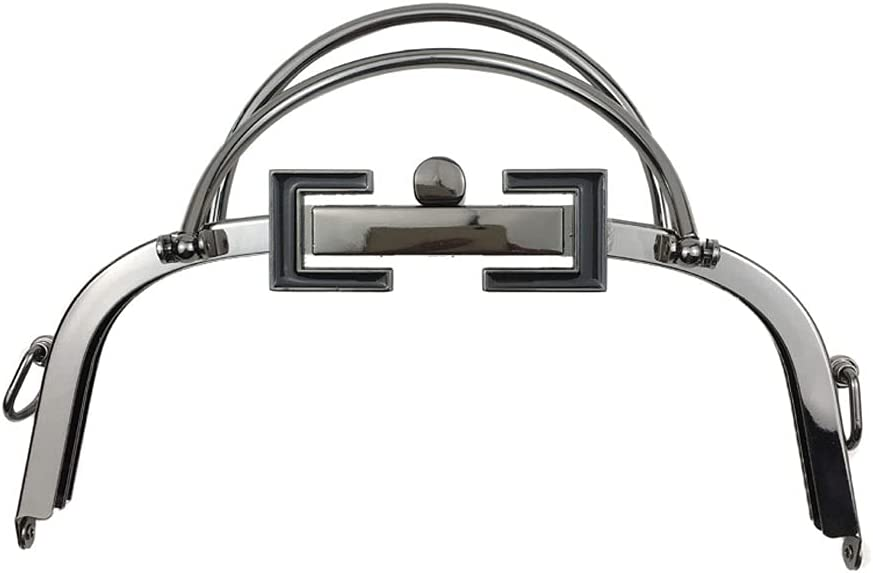 DIAOD DIY Metal Bag Frame Free shipping / New Clasp Double Handle 20.5cm Ring Max 67% OFF Square