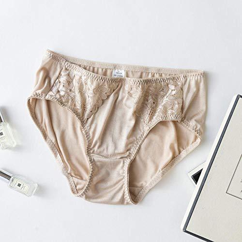 Katoenen hipster voor damesDamesmoerbei zijden kanten sexy slip * 4-D_L.