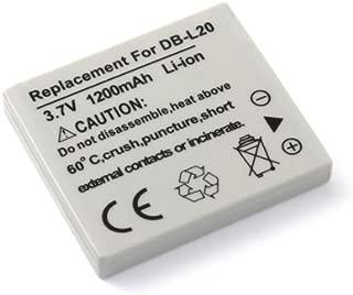 Battery for Sanyo DB-L20 Xacti DMX-HD2000 VPC-CA9