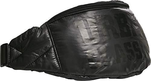 Urban Classics Unisex Gürtel-Tasche Puffer Shoulder Bag Damen/Herren Umhängetasche, 43 cm, Black