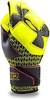 Hi-Visibility Yellow//Black Under Armour UA Challenge GK Desafio Pro Goal Keeper Gloves Youth Size 7