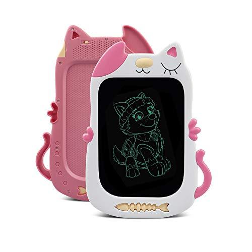 TENOL Mädchen Spielzeug für 3 4 5 6 Jahre altes Zeichenbrett, Mädchen Geschenke Alter 3 4 5 6, LCD Doodle Board für 3 4 5 6 Jahre altes Geburtstags Spielzeug für Mädchen Alter 3 4 5 6 Pink