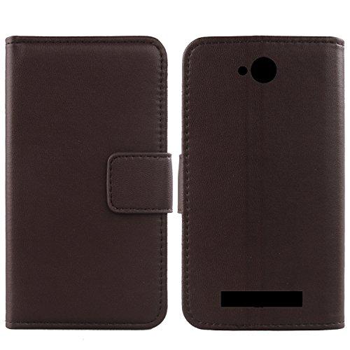 Gukas Design Echt Leder Tasche Für Archos Access 45 4G 4.5