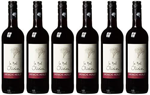 Grenache Merlot IGP Le Bel Olivier, Grands Vins du Saint Chinian , trocken  (6 x 0.75 l)