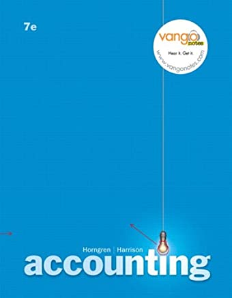Accounting: Chapters 12-25