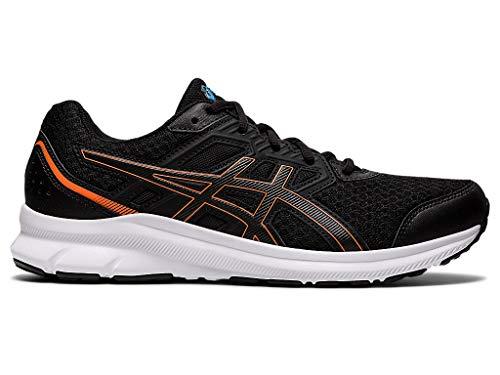 ASICS Men's Jolt 3 Running Shoes, 12M, Black/Reborn Blue