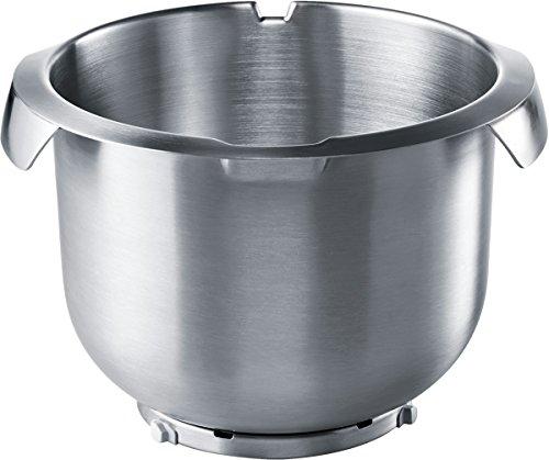 Bosch MUZ8ER3 roestvrijstalen mengkom geschikt voor keukenmachines Mumxl/XX en MUM8 maximale debiet 3,5 kg