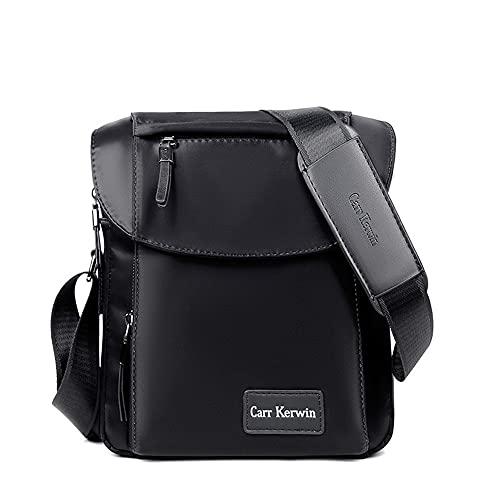 Carr Kerwin Bandolera Bolsa de tela Oxford Mochila de Moda Bolsa de Lona de Viaje Hombres Crossbody Bolsas