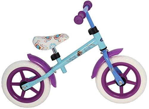 Disney Girl EVA Eco metal bicicletta, blu, ghiaccio