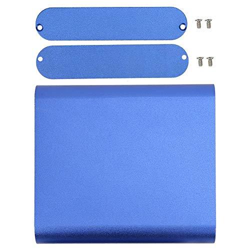 Aluminium Project Box - Luminum Project Box Mattblau DIY Elektronisches Produkt Wärmeableitungsgehäuse 26x108x120mm