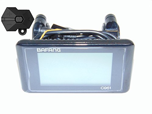 New StyleBafang 8Fun C961 LCD Panel Display Mid-Drive Motor Parts Electric Bicycle Ebike for Controller