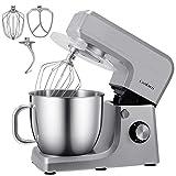 Cookmii Küchenmaschine 1800W Hohe Energie Knetmaschine Praxis Rührmaschine 6.5L, 6-stufige...