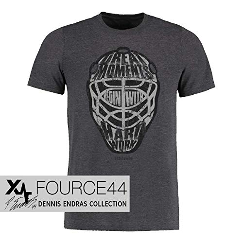 Scallywag® Eishockey Kinder T-Shirt Great Goalie Moments I Größen S - 3XL I A BRAYCE® Collaboration (offizielle Goalie Dennis Endras FOURCE44 Collection) (XL (152))